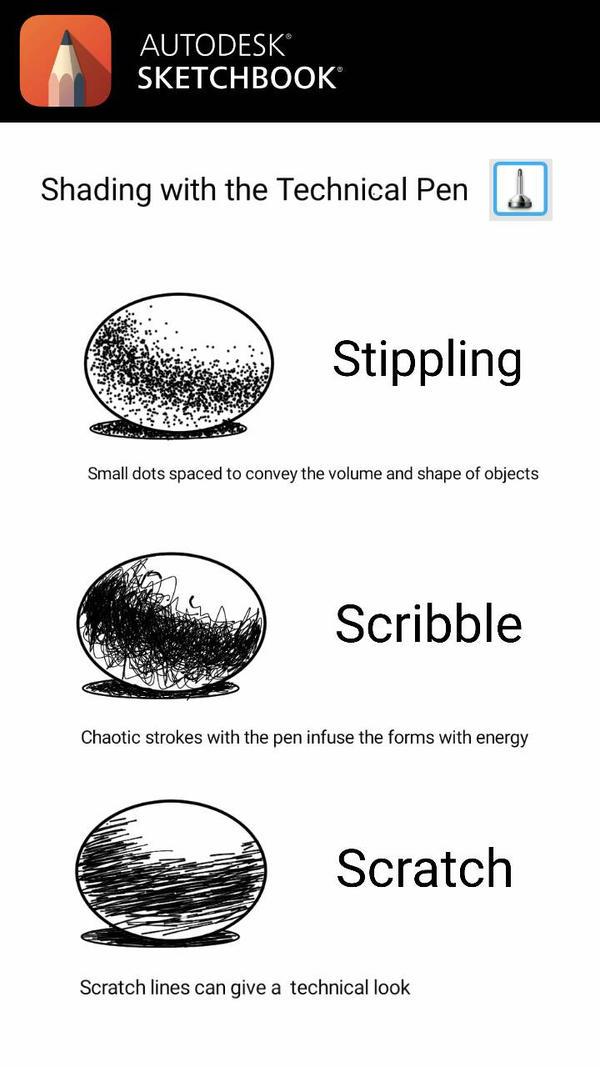Autodesk Sketchbook Technical Pen Techniques by ArtofJefferyHebert