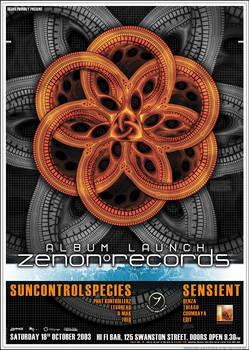 ZENON RECORDS A2 Poster