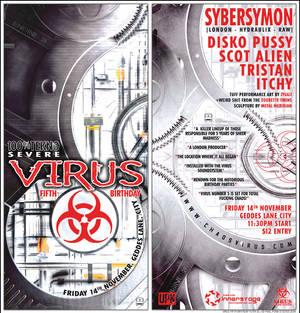 VIRUS Fifth Flyer DL