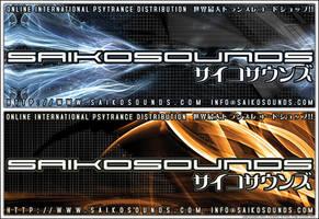 SAIKOSOUNDS Vinyl Stickers
