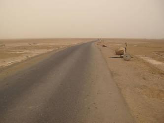 Desert road 2b by FiLH