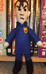 Rimmer (From Red Dwarf) Soft Toy by Alex-VS
