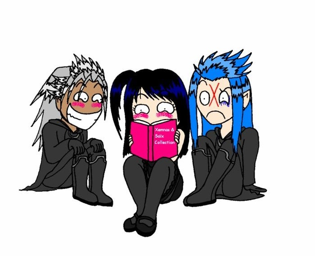 xemnas saix and me by blackmageanna on deviantart