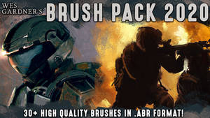 Wes Gardner's Brush Pack 2020