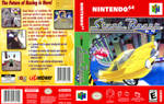 Stunt Racer N64 custom box art