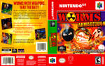 Worms Armageddon N64 custom box art