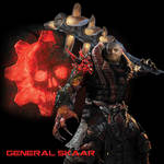 Gears 6 General Skaar concept art (JD swarm)