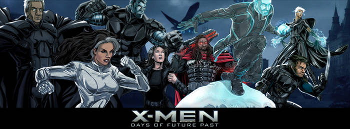 DOFP Avengers Alliance by none4ROMiR