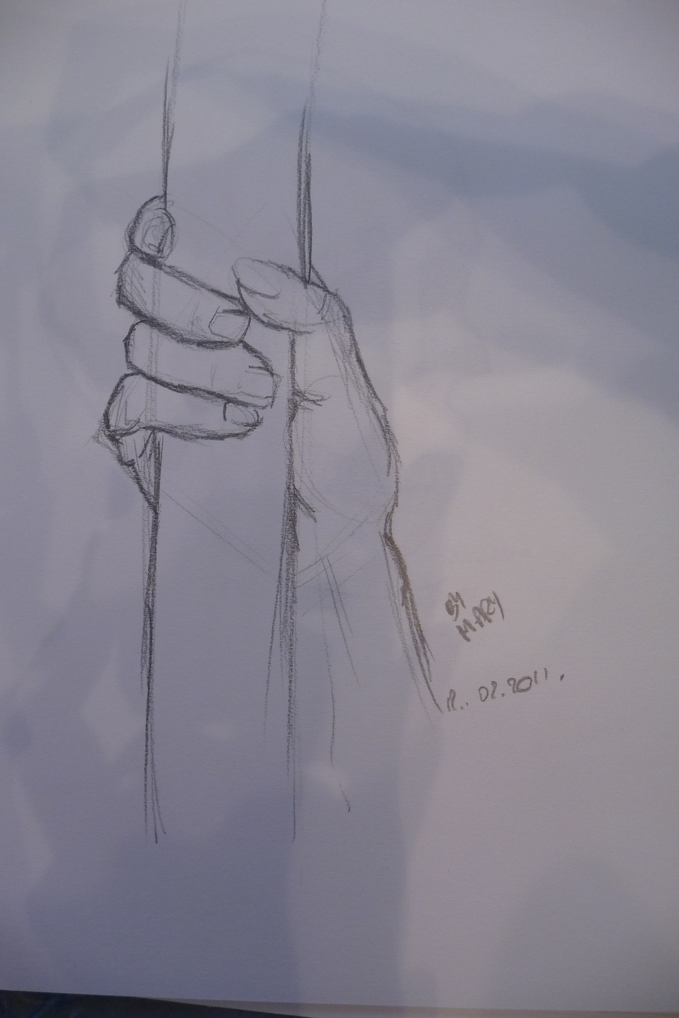Hand holding something by JokerGiirl on deviantART Hands Holding Something Drawing