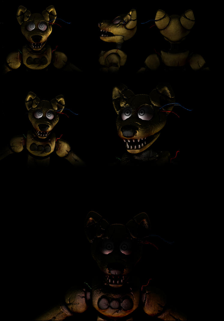 Fnaf fan made noname animatronic by the magpie on deviantart