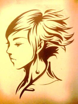 Pepper Profile Stencil