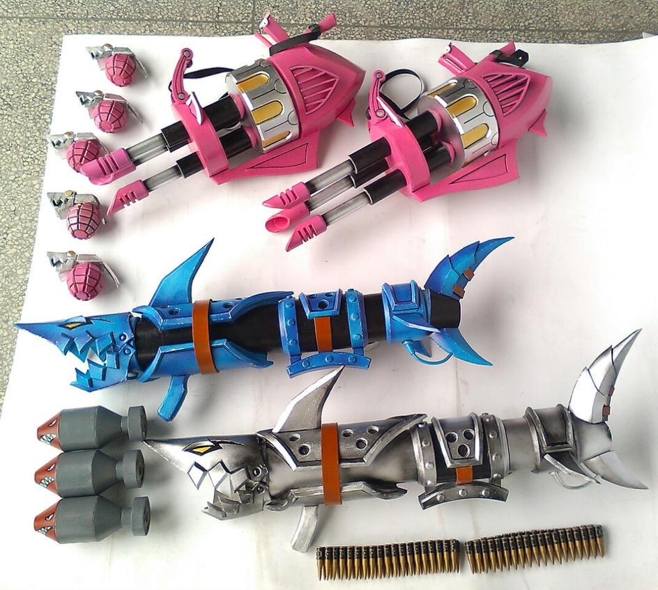 Jinx Weapon Set Mk2 by xenofett