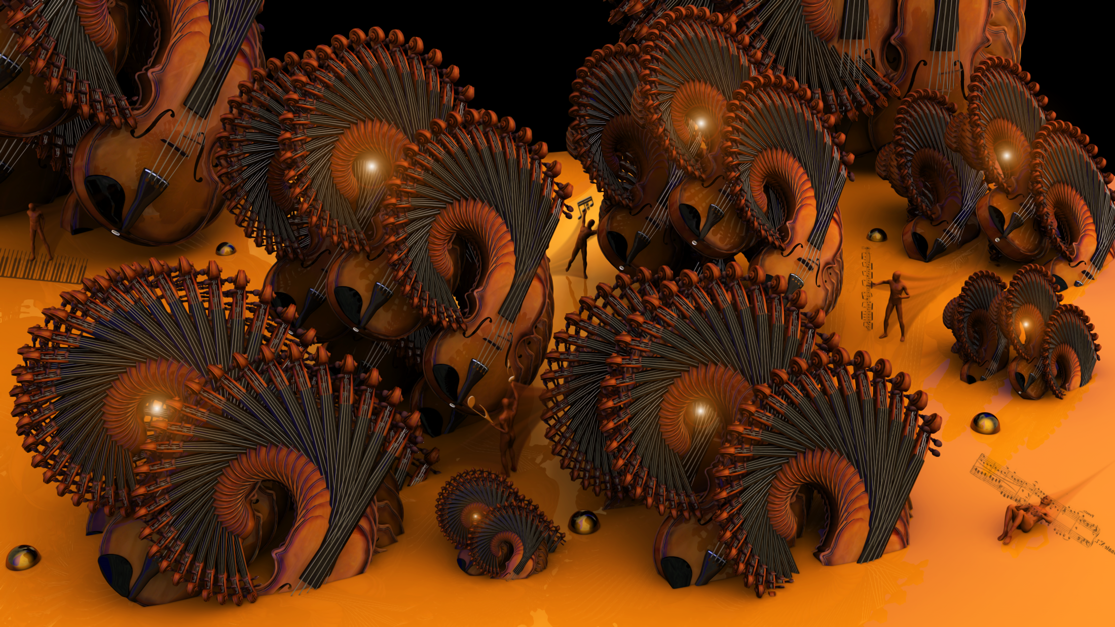 1000 Violins by pazoozoo