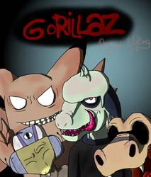 Gorrilaz as Poke'mon