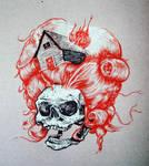 Skull Wig
