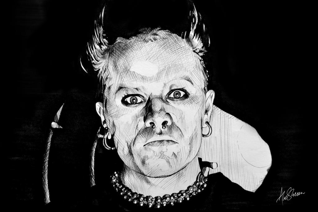 Keith Flint by Severeign