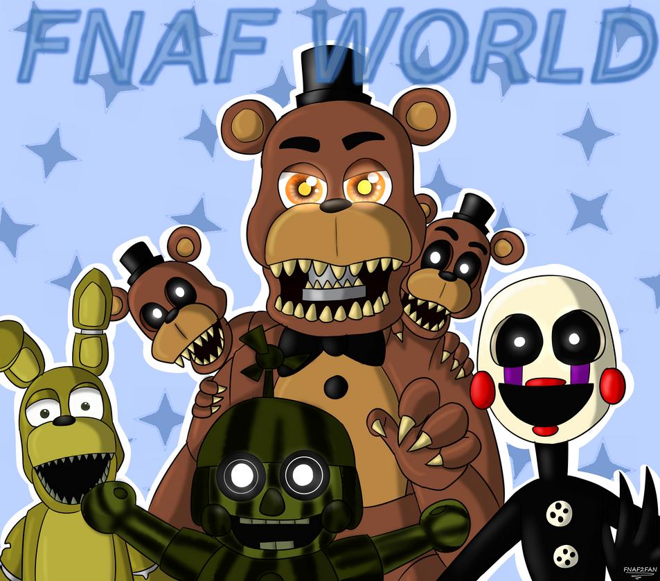 Fnaf world by fnaf2fan on deviantart