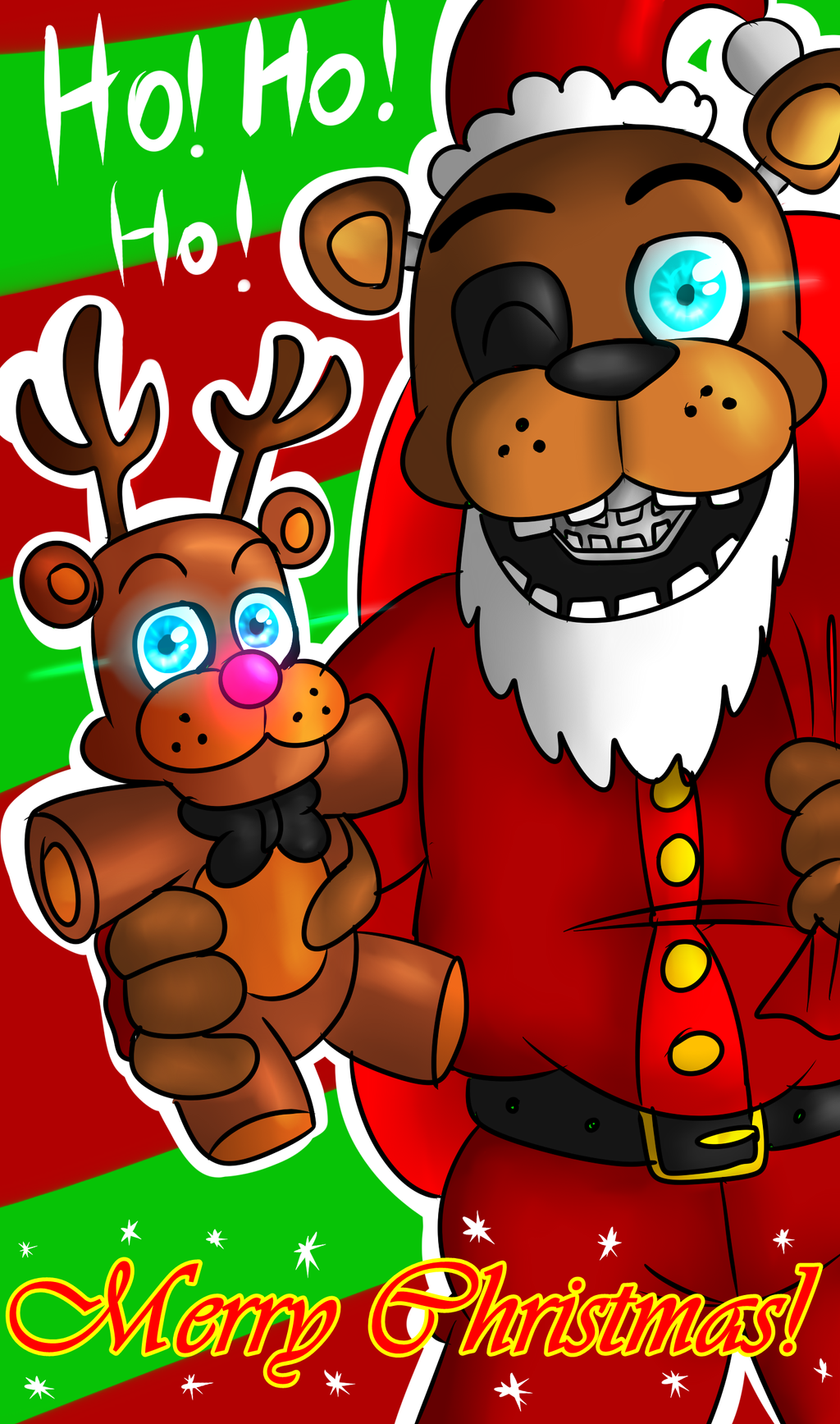 Merry Christmas!! by FNaF2FAN on DeviantArt