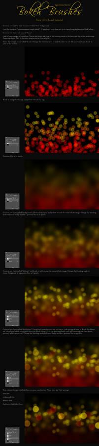 Fiery Bokeh Background Tutorial