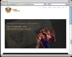first webdesign about League of Legends stuff