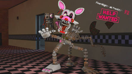 The Mangle (FNAF VR HELP WANTED) by Mangle1195