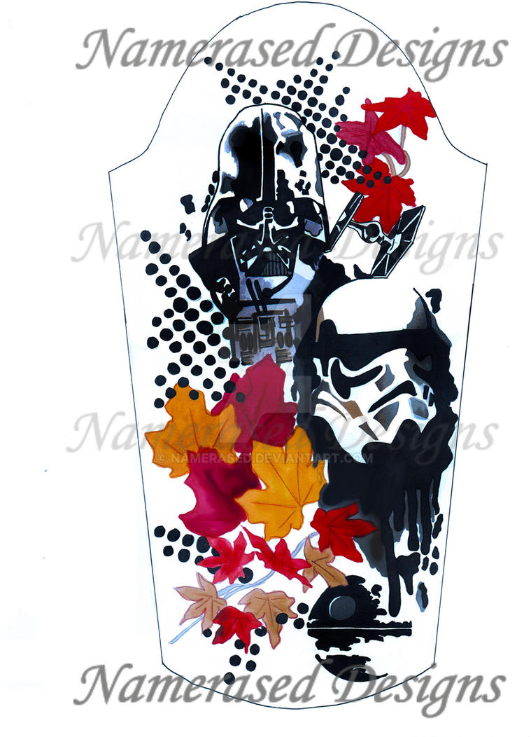 Starwars Half Sleeve Tattoo Design Trash Polka By Namerased On