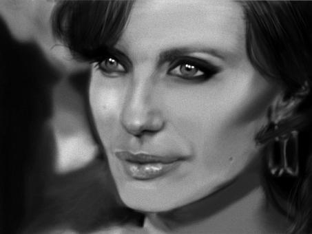 Angelina Jolie by tsAii-x