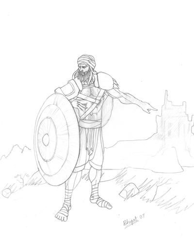 Sikh Shield Warrior by prince911