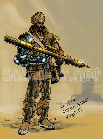 Ranjit Singh - coloured by prince911