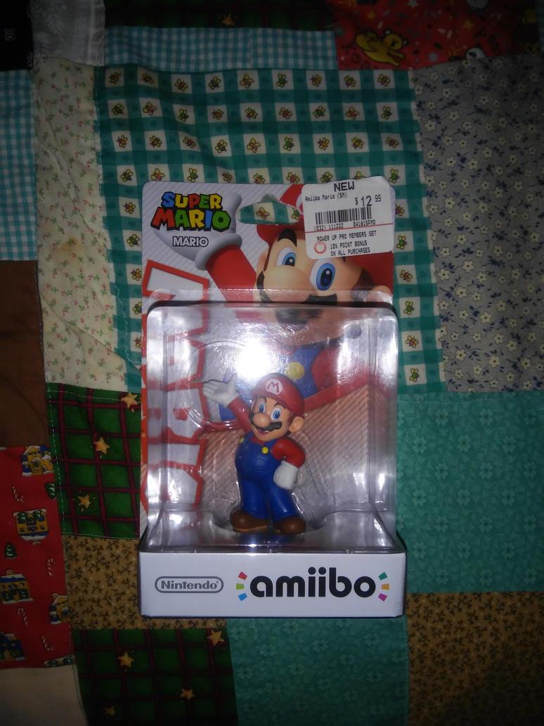 Mario amiibo by Don-Shazz