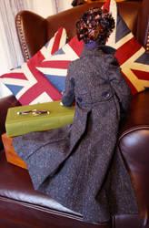 Sherlock Doll Back view by slakerart