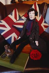 Sherlock Doll by slakerart