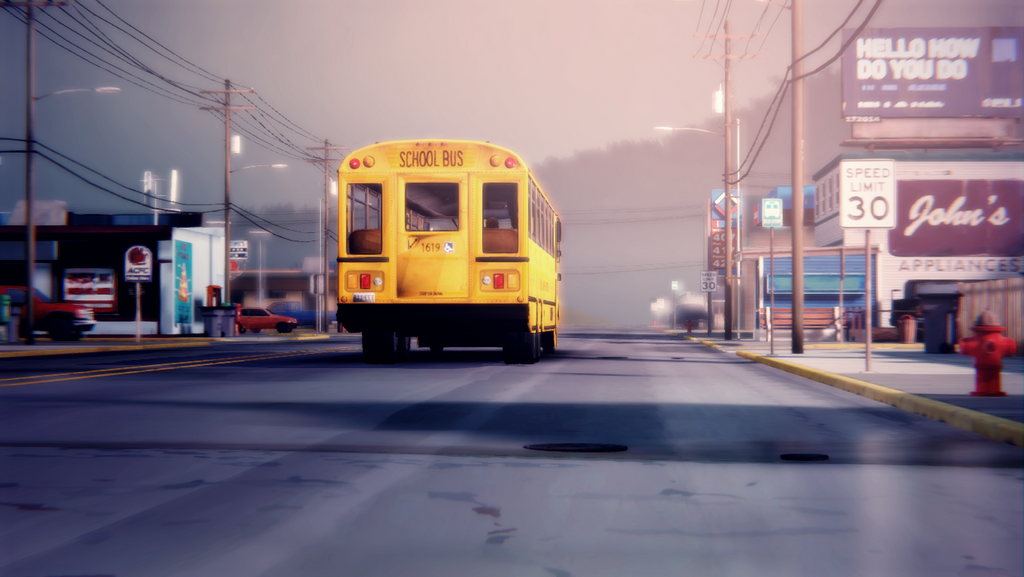 Life Is Strange School Bus Photo