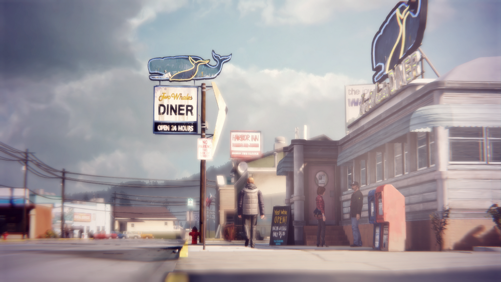 Life Is Strange: Two Whales Diner by jvbuenconcejo