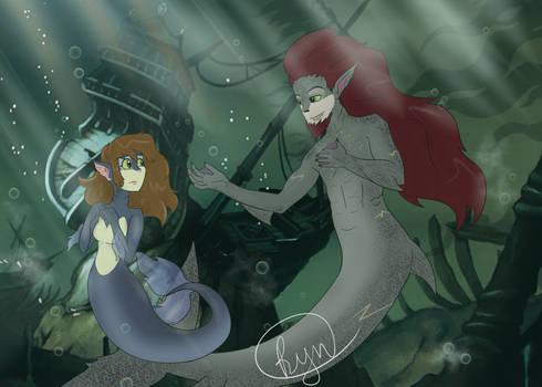 MerMay Melody and Goth
