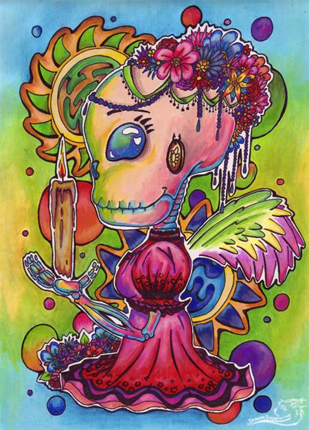 Day Of The Dead Little Angel By NabiKat