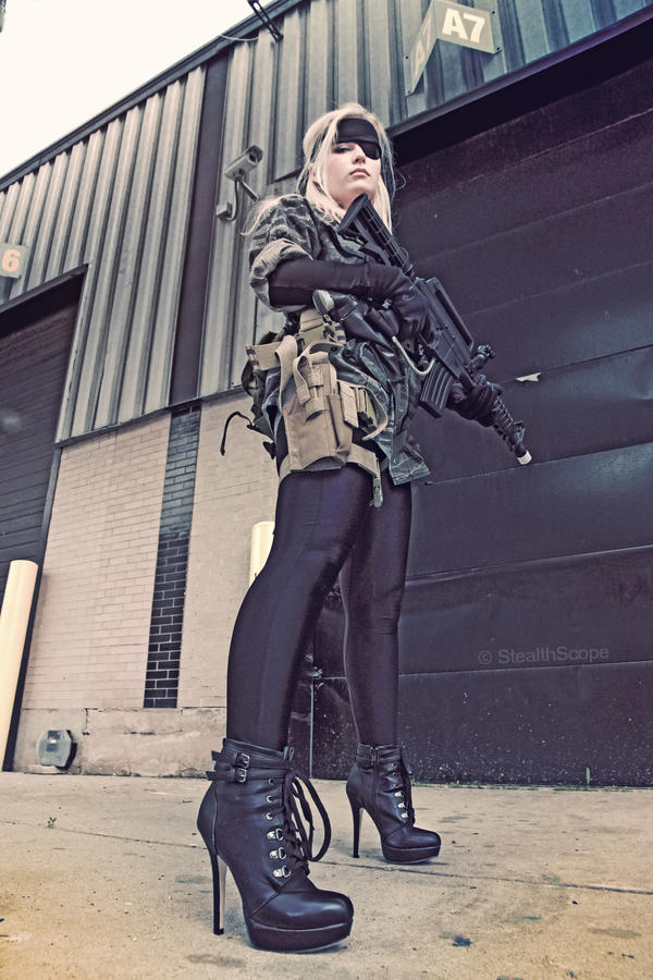 Naked Snake (Big Boss) Gender Bender by NabiKat