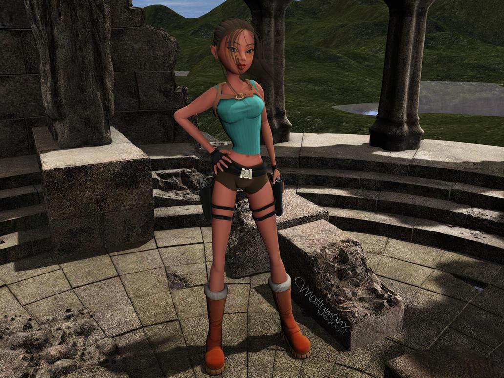 Toon Raider by mattymanx