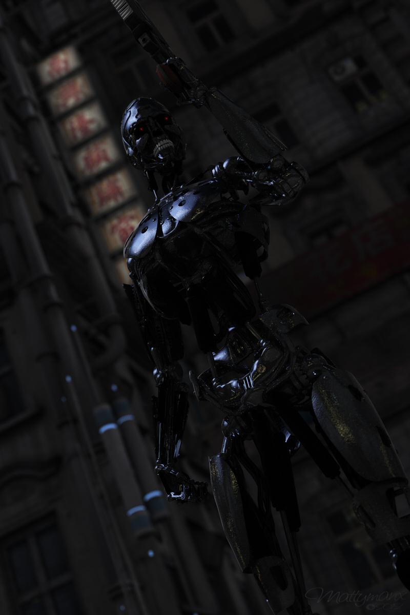 Cyber M4 by mattymanx