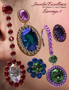 Jeweled Excellence Earrings 1