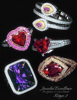 Jeweled Excellence Rings2