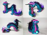 Turquois Oriental Dragon