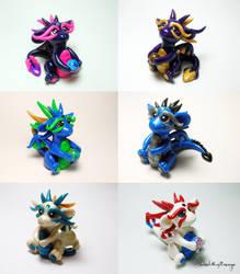 6 Dragon Collage