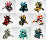 Group of Little Dragons