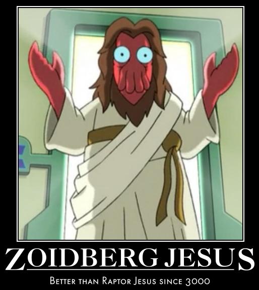 zoidberg jesus motivational by lleviton on deviantart