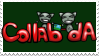 Collab-dA Stamp by collab-da