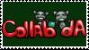 Collab-dA Stamp by collab-da