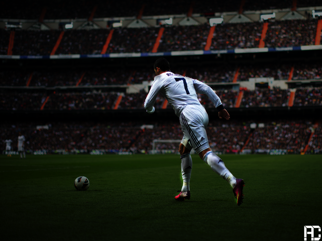 Ronaldo Wallpaper Efekt Work by ANILDD11
