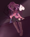Betty Noire - Glitchtale Redraw