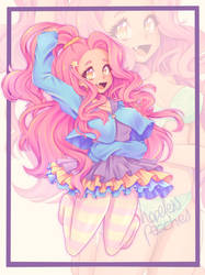 Candy-Coloured Girl   Adoptable by HopelessPeaches